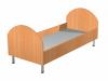 Кровать детская на металлокаркасе